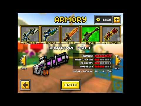 Pixel Gun 3D!-My Favorite Guns