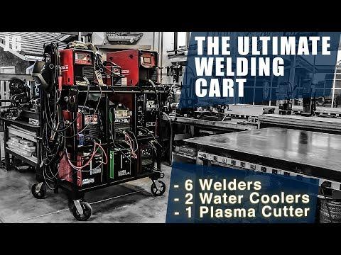 The Ultimate Welding Cart   JIMBO'S GARAGE