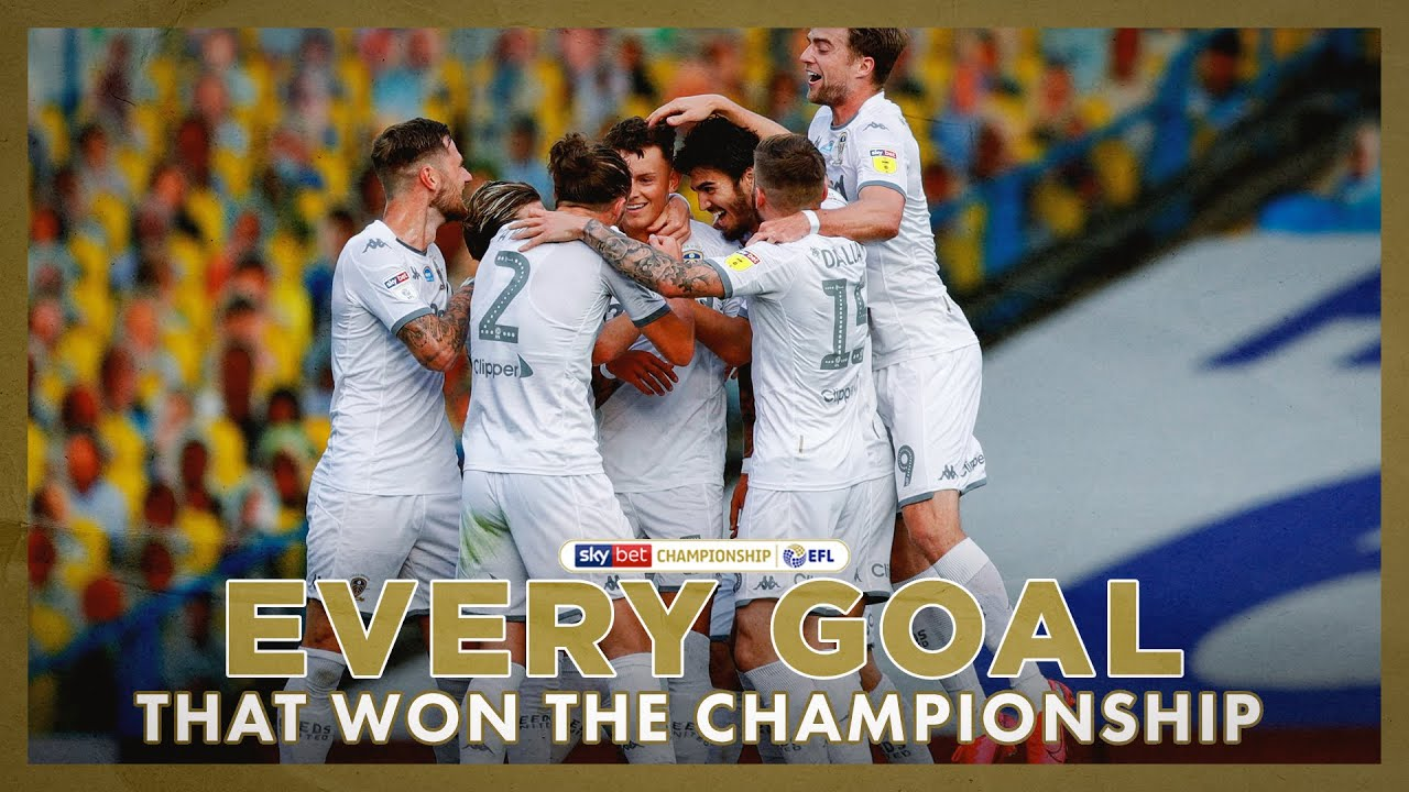 EVERY Leeds United goal that won the Championship title! | 2019/20 season