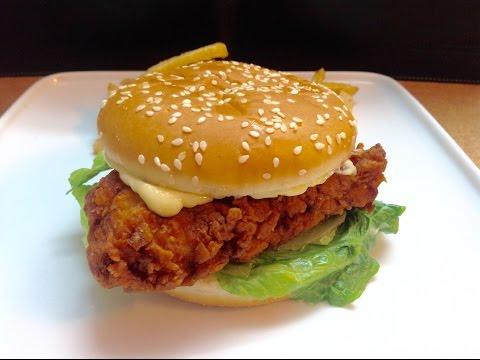 Zinger Burger | KFC Crispy Zinger Burger