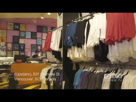 Cherry Bomb a Retail Stores in Vancouver offering customized Shirts and Clothes