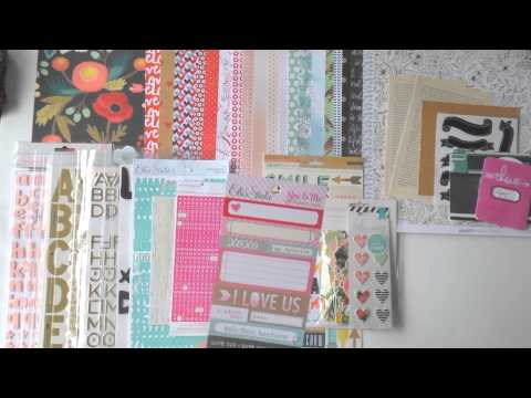 How To ~ Make a DIY Scrapbooking Kit