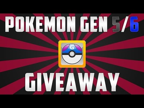Pokemon Gen 5/6 Pokemon Files Giveaway