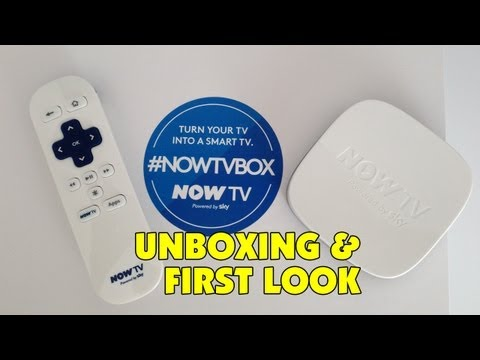 Now TV from SKY Unboxing & First Look