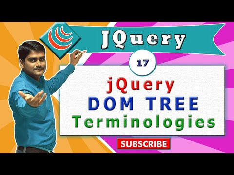 jQuery video tutorial 17 - Understanding DOM Tree structure