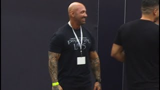 Jerry Ward at the 2018 LA Fit Expo