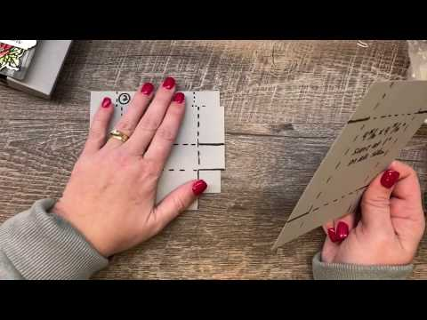 How to make a Double Hinge Lid Box