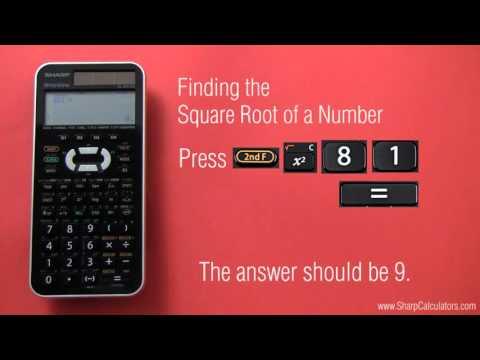 Tutorial: Roots for Sharp EL-516XB
