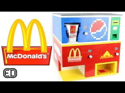 The Lego McDonald's Machine | Big Macs and Pepsi