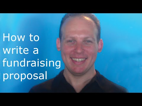 How to write a fundraising proposal