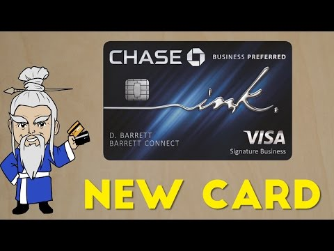 New Ink Business PREFERRED Credit Card Announced