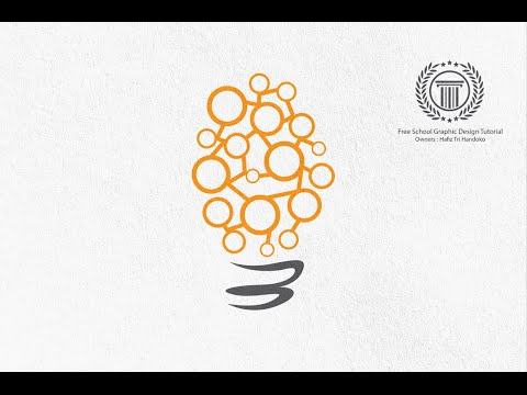 How to Make a Bulb Logo Design - illustrator cs6 logo design tutorial
