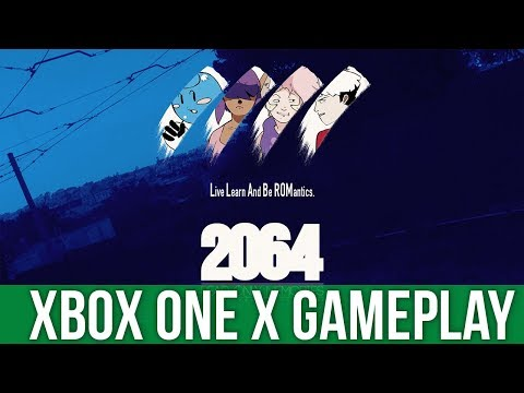 2064 Read Only Memories - Xbox One X Gameplay (Gameplay / Preview)