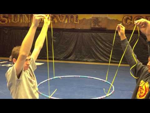 Hula Hoop Hanging