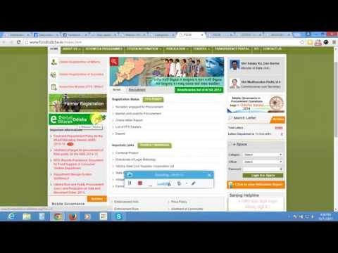 Odisha Ration Card E-bitarana Food Odisha - Moodisha.in