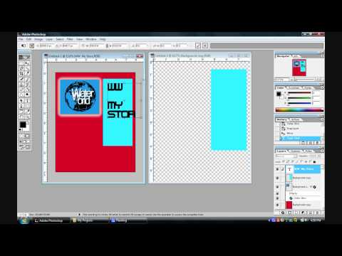 Making a Poster in Photoshop.wmv