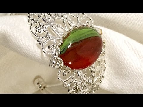 How to Make Quick and Easy Jewelry from Poured Fluid Acrylic Skins