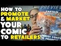 Download  How to promote & market YOUR comic to retailers -- with Michelle from JAF COMICS! MP3,3GP,MP4
