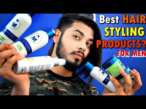 Best Hair Styling and Hair Care Products For Men 2018 | Mister Pompadour Review | Asad Ansari