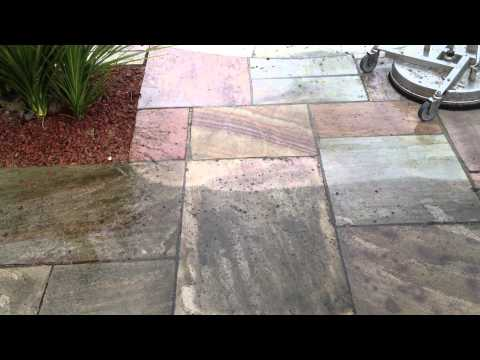 Swimming Pool Patio Area Cleaning - www.yorkshiredrivewaycleaning.co.uk
