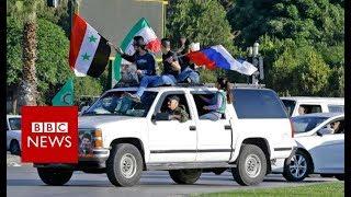 Syria air strikes: The mood in Damascus - BBC News