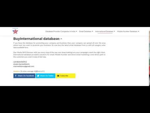 Car owner Database bangalore