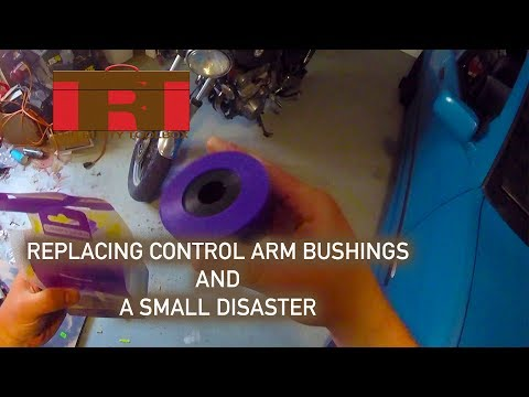 Replacing E36 Control Arm Bushings and a DISASTER - The Rusty Toolbox