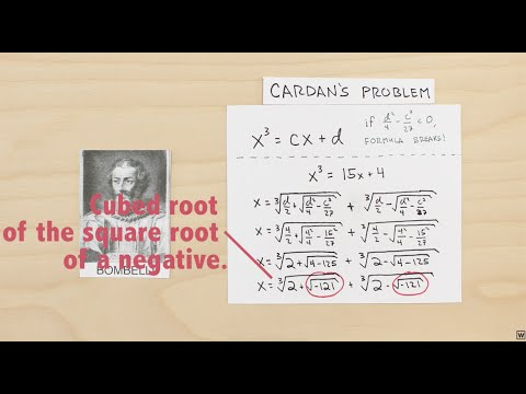Imaginary Numbers Are Real [Part 3: Cardan's Problem]