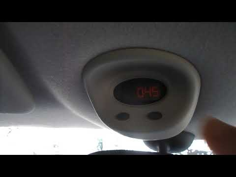 How to set the clock on a Mini