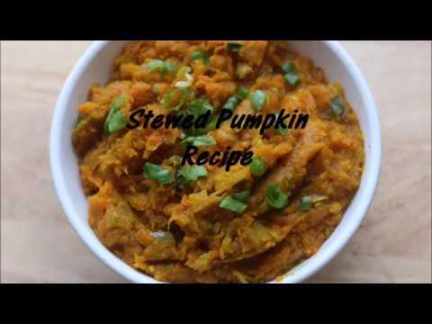 Stewed Pumpkin Recipe