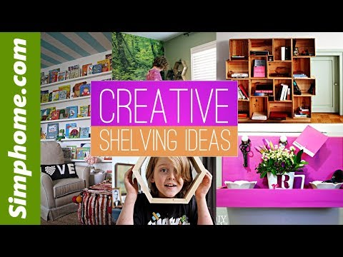 28 DIY Creative shelving ideas