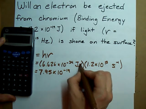 Photoelectric Effect - Will electrons be ejected from the metal? (From Frequency)