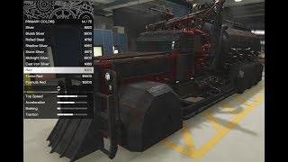 GTA 5 - Arena War DLC Vehicle Customization - MTL Apocalypse Cerberus Semi Truck and Review