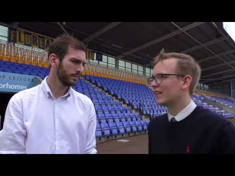 Lewis Cox and Luke Hatfield discuss John Askey's appointment at Shrewsbury Town
