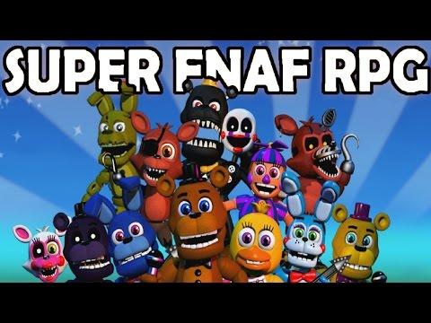 SUPER FNAF RPG #3 - SECRET WAY TO THE GRAVEYARD