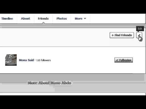How to Hide Friends List on Facebook 2013