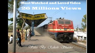Extreamly Fast,Furious, Flying Indian Railways