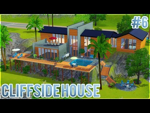 The Sims 3: Let's Build a Cliffside House (Part 6) Outdoor Furnishing