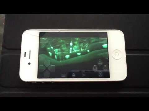 Metal Gear Solid on Iphone 4s RetorArch
