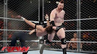 Dean Ambrose vs. Sheamus - Steel Cage Match: Raw, December 21, 2015