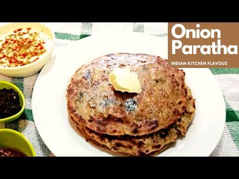 Onion Paratha | Pyaz Paratha | Stuffed Onion Paratha Breakfast | Onion Paratha by IKF