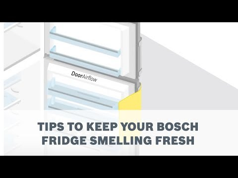 Tips to keep your Bosch Fridge smelling fresh