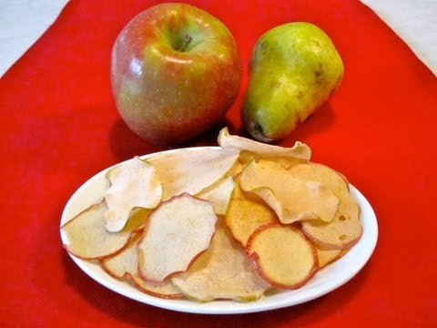 Snack Food Recipe for Kids: How to Make Apple and Pear Chips for Children - Weelicious