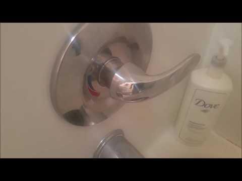 Price Pfister single Handle Shower valve leak fix