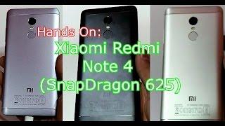 Hands On: Xiaomi Redmi Note 4: Snapdragon 625