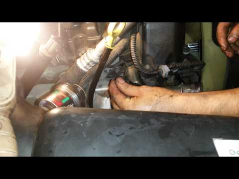 How to clean the camshaft in a trailblazer