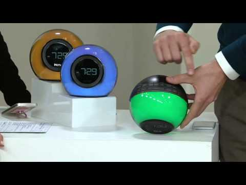 iHome Bluetooth Color-Changing Dual Alarm Clock on QVC