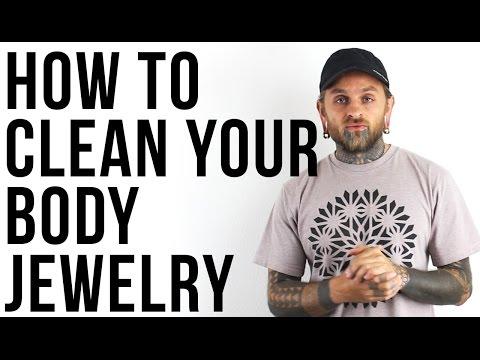 How to Clean Your Body Jewelry | UrbanBodyJewelry.com