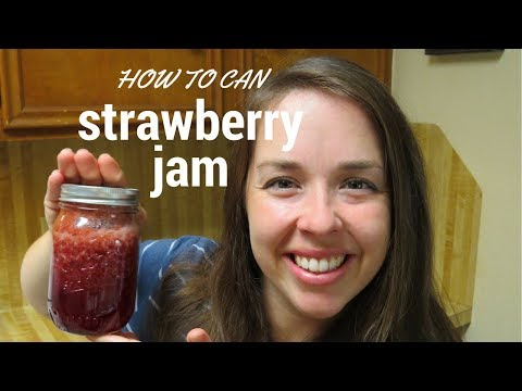 How to Can Strawberry Jam - No Pectin