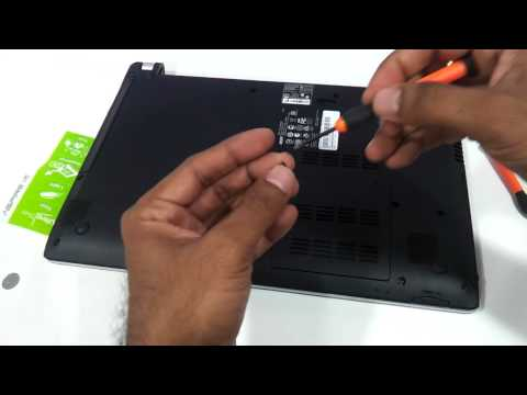 Acer V5 laptop How to Upgrade ram simple
